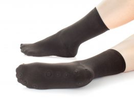 black neurotherapy socks